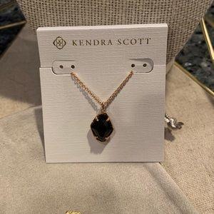 Kendra Scott Ellington Necklace in Rose Gold - New